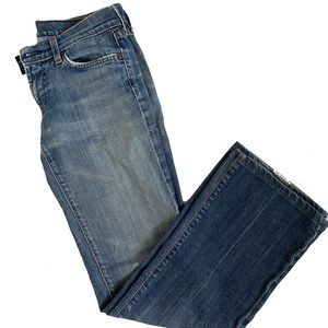 7 for all mankind boot cut jeans size 26